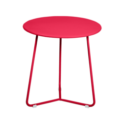 tabouret bas metal, table de chevet, table d appoint, petite table basse rose